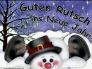 Guten Rutsch ins Neue Jahr..Silvester Gruß..happy New Year 2018
