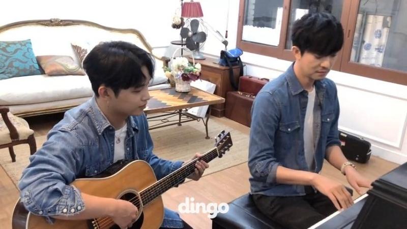 BACKSTAGE 10 07 2018 Хёншик и Юн Гон @ Dingo Music