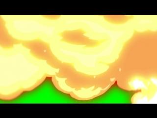 Видео переход Взрыв Футажи Хромакей Вставка для монтажа 6 720 X 1280 mp4