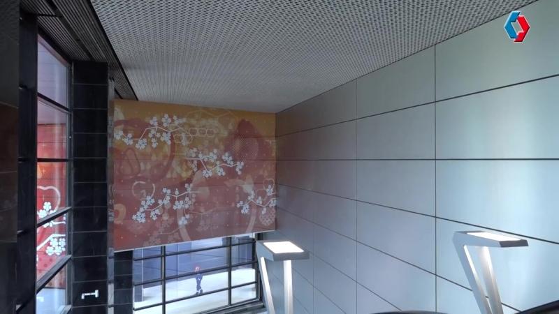27.06.2018. Вокруг станций пускового участка желтой ветки ведется масштабное благоустройство