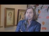 Открытие персональной выставки Никаса Сафронова в Минске 2 марта 2018г.