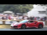 2018 Ferrari 488 Pista Piloti Exterior and Interior Overview and Hill Climb! FoS 2018.