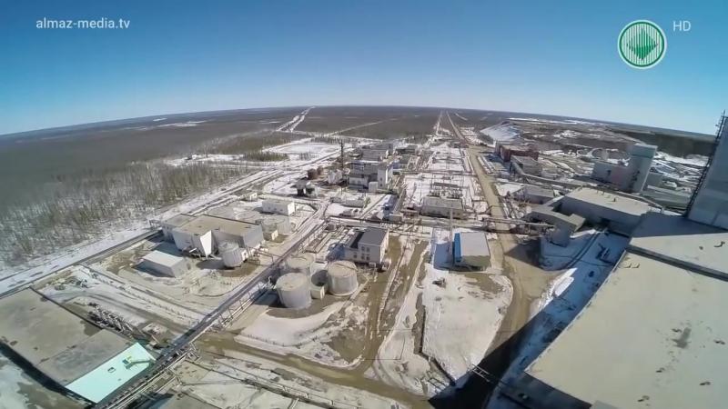 Предприятия АЛРОСА — подземный рудник Интернациональный.