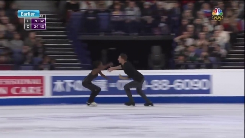 2017 Worlds Pairs. LP. Vanessa James Morgan Cipres [The Sound of Silence by Disturbed]