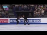 2017 Worlds Pairs. LP. Vanessa James &amp Morgan Cipres The Sound of Silence by Disturbed