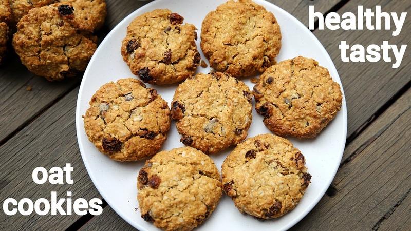 Oat cookies recipe ओट्स की कुकीज oatmeal cookie recipe oatmeal raisin cookies