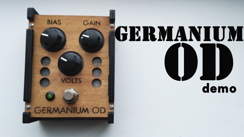 Germanium OD Overdrive demo