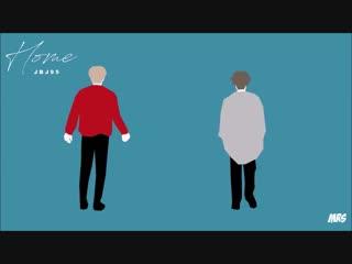 Фан-анимация   JBJ95 - HOME   07.11.18
