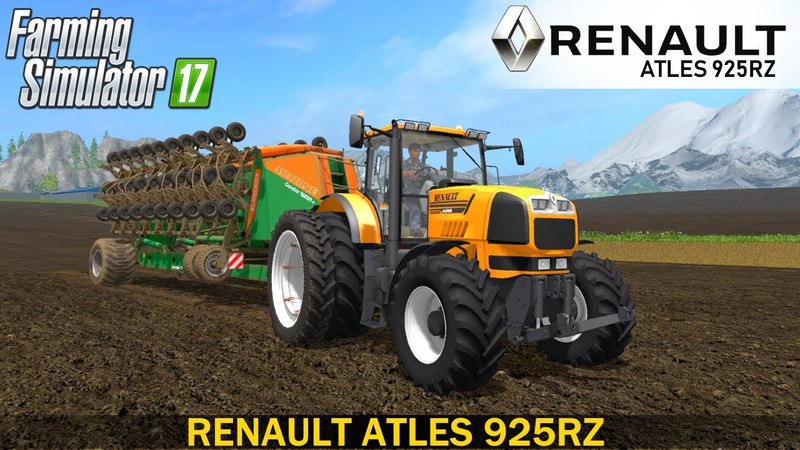 Farming Simulator 17 RENAULT ATLES 925RZ TRACTOR