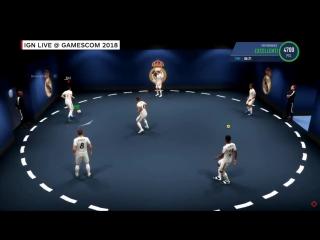 Тренировка в режиме The Journey в FIFA 19