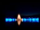 Абрау-Дюрсо, поющий фонтан на озере