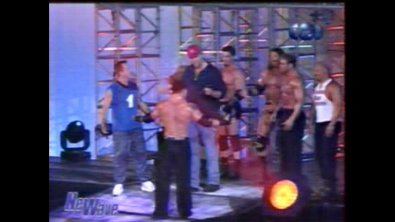 Титаны реслинга на ТНТ и СТС WCW Nitro September 18 2000