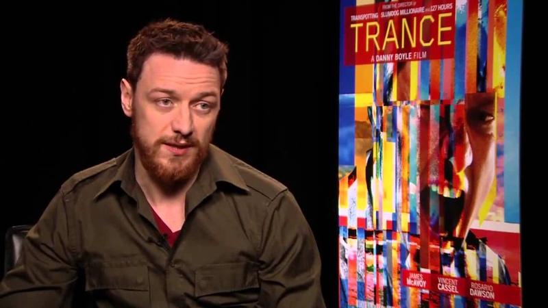 Интервью с актером из фильма «Транс» - Джеймсом МакЭвойем