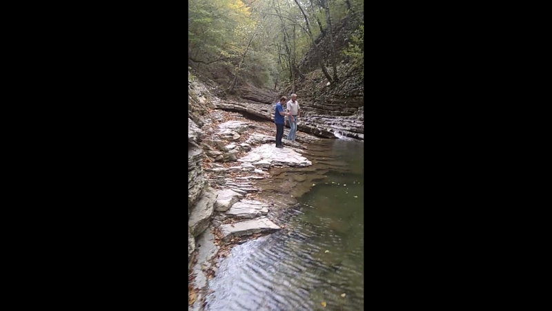 Водопадный скалолазинг