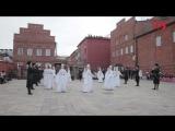 Во Владикавказе в день выборов президента прошла серия танцевальных флешмобов