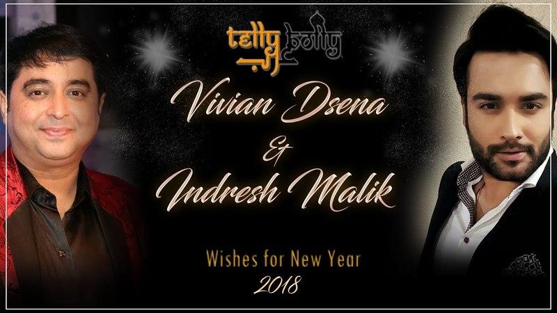 Vivian Dsena Indresh Malik wishes for New Year 2018 - TellyBolly Arab