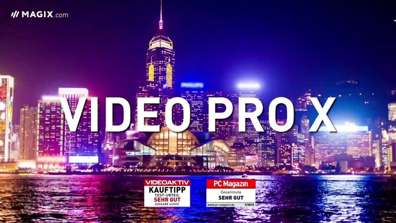 MAGIX Video Pro X: High-End-Videoproduktion