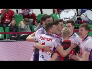 HIGHLIGHTS. Факел — Кузбасс Суперлига 2017-18. Мужчины