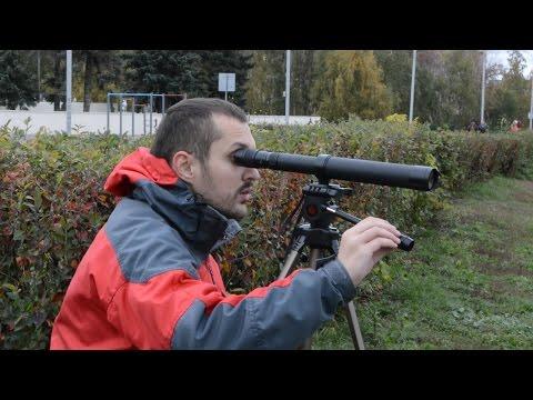Тест №2 зрительной трубы КОМЗ ЗТ8 24х40М Зеница