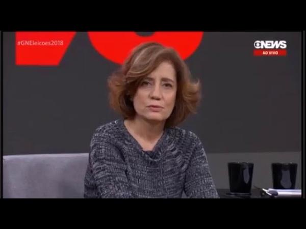 Vexame Globo News Miriam Leitão psicografa a resposta de Roberto entrevista com Bolsonaro » Freewka.com - Смотреть онлайн в хорощем качестве