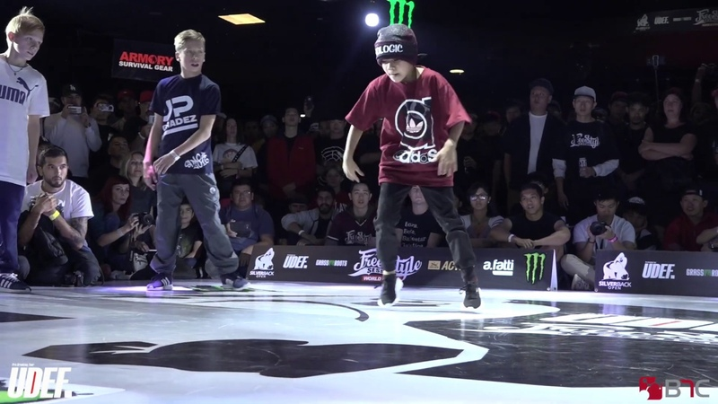 Angry BoyGrom Vs BabaluRicky Jr - Kids (Youth) Semis - Freestyle Session 2018 - Pro Breaking Tour
