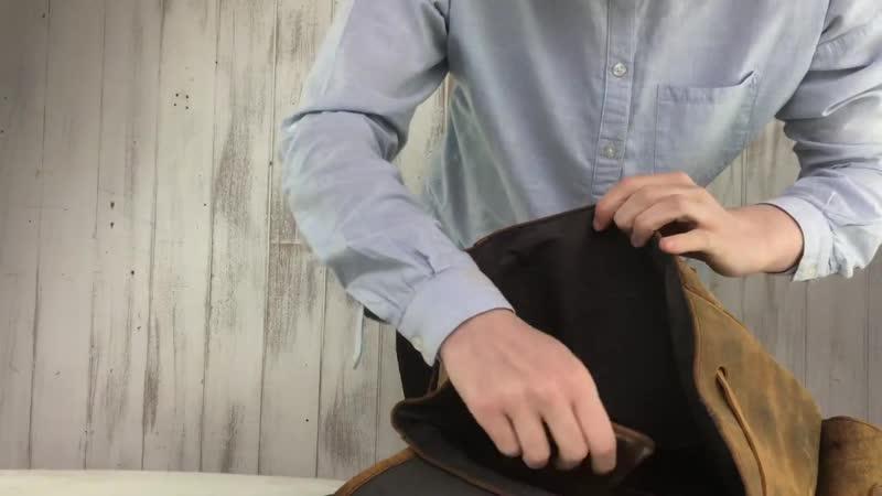 Большой рюкзак Boho