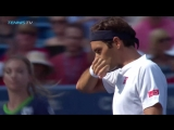 Federer Djokovic Cincinatti 2018 Highlights