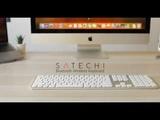 Satechi Aluminum Bluetooth Keyboard for iMac