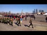 Прохождение Усольского Гвардейского Кадетского Корпуса с песней на юбилейном XV слёте кадетских корпусов России