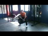 Тяжелая тренировка спины на сушке.Полное описание,ниже.