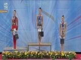 Церемония награждения за финал с булавами - Кубок мира София 2018