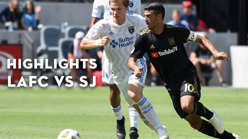 Full Highlights | 2-0 | LAFC vs. San Jose Earthquakes | September 22, 2018