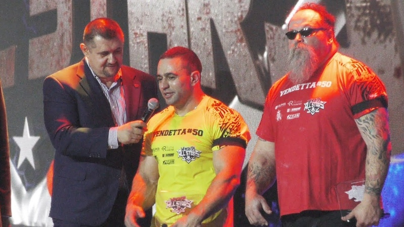 The little guy defeated a huge man Bresnan vs Babayev Vendetta 50