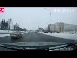 ДТП неадекватный за рулём в Минске