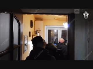 Видео с места убийства женщины и подростка в Москве