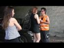 Eva Berger BROKEDOWN BABES FRIENDLY TRUCK DRIVER