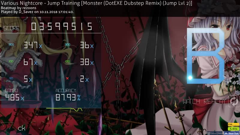 Various Nightcore - Jump Training [4,2 stars, HD, 87.83, 2miss]