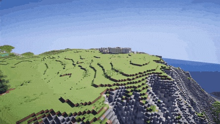 Incredible Minecraft build in timelapse - Create, Discover and Share GIFs on Gfycat