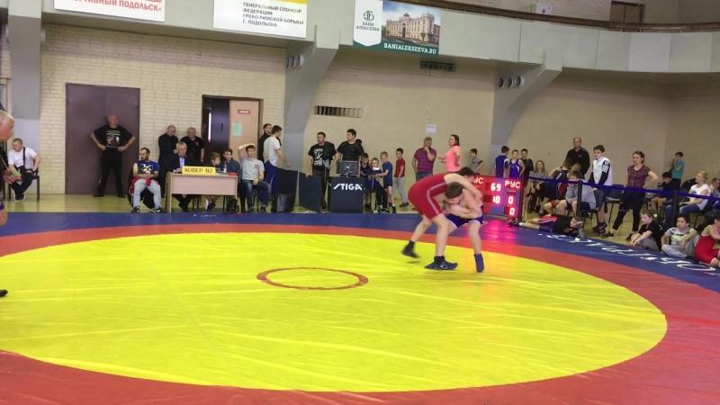 Соревнования по греко-римской борьбе 19.05.18