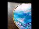 Мастер класс в Сочи Создание картин из эпоксидной смолы Лира Сулейман