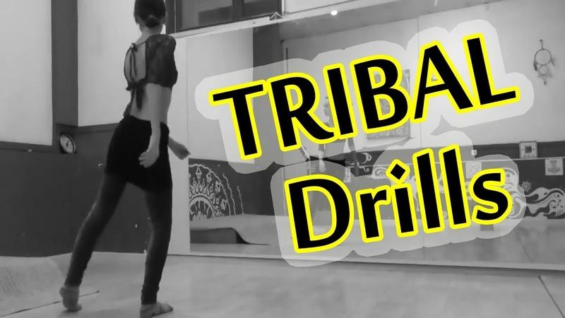 Tribal Drill \ Трайбл связки @ Just do TRIBAL! 09