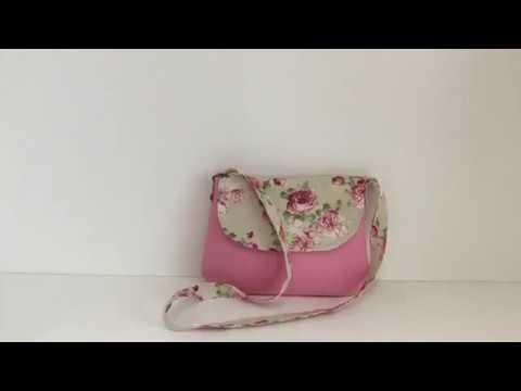 Tuto facile coudre un petit sac à bandoulière Couture Madalena
