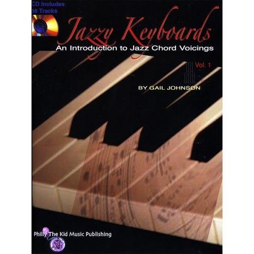 Gail Jhonson альбом Jazzy Keyboards, vol. 1 BOOK/CD