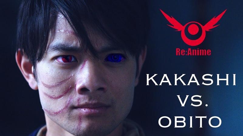 NARUTO: KAKASHI VS. OBITO FIGHT (RE:ANIME)
