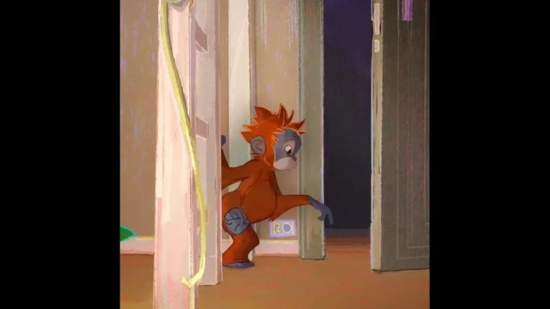 Odama bir orangutan girmis (1. Kisim)
