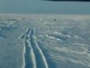Посадка АН 72 на ледовый аэродром Барнео в районе Северного полюса...