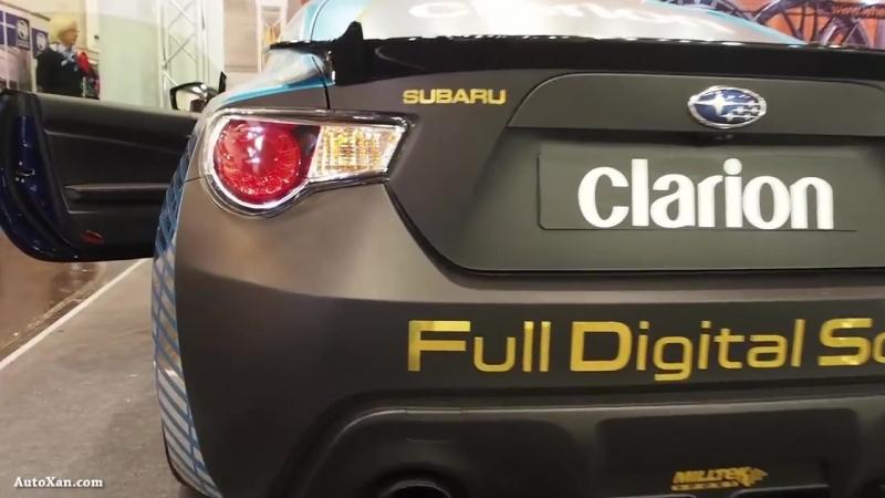 Subaru BRZ Clarion Project