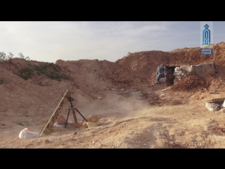 Сирия.24-04-2018.Боевики ХТШ в боях против САА в Растанском котле,провинция Хомс