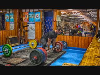 Становая тяга 300-320 кг 07.11.2018 года.