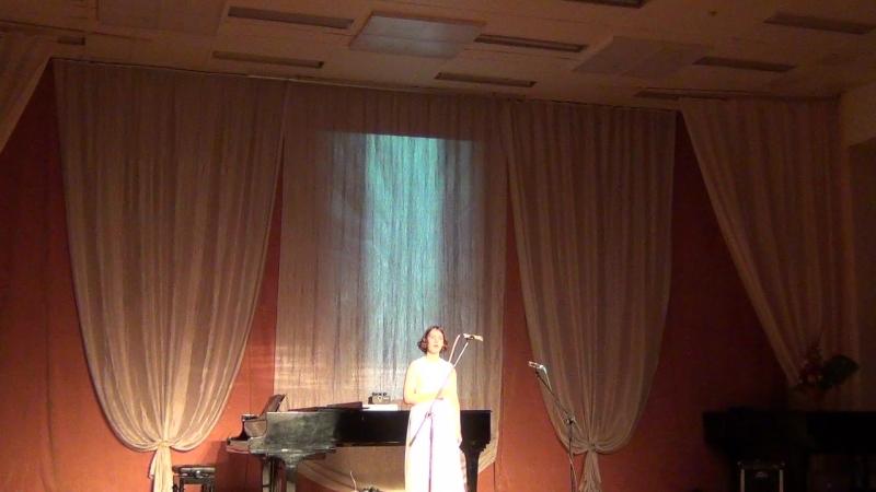 Гала концерт Грани таланта 2018 Сидорова Ксения Еврейский духовный стих Авину Малкену